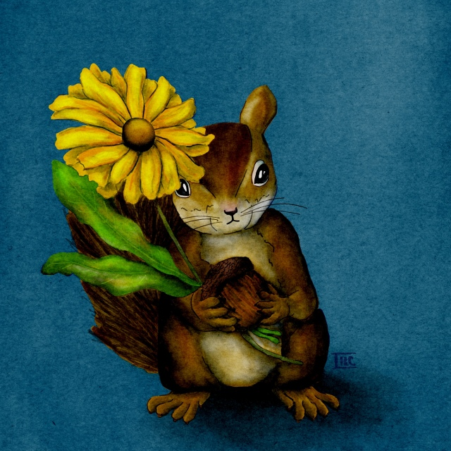 Squirrel_Bouquet_